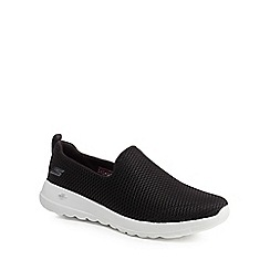 Skechers - Black 'Go Walk Joy' slip-on trainers