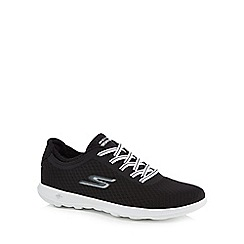 Skechers - Black 'Go Walk Lite' slip-on trainers
