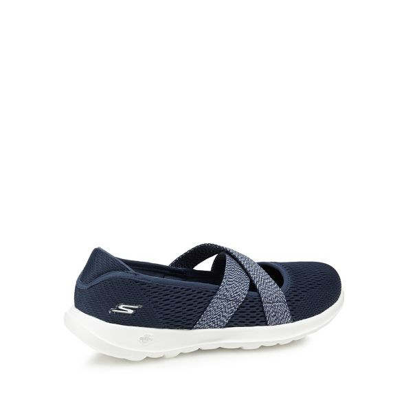 on 'Go Navy trainers Walk Skechers Lite' knit slip xw6PB4YB