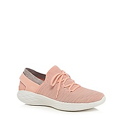 Skechers - Peach 'You Spirit' trainers