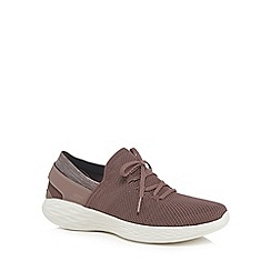 Skechers - Mauve 'You Spirit' trainers