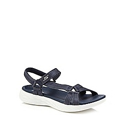 Skechers - Navy 'On The Go Brilliancy' sandals