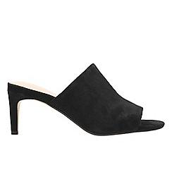 Clarks - Black suede 'Amali Astra' sandals