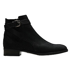 Clarks - Black interest 'Netley Olivia' ankle boots