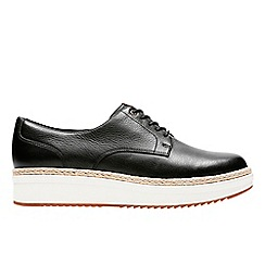 Clarks - Black 'Teadale Rhea' lace up