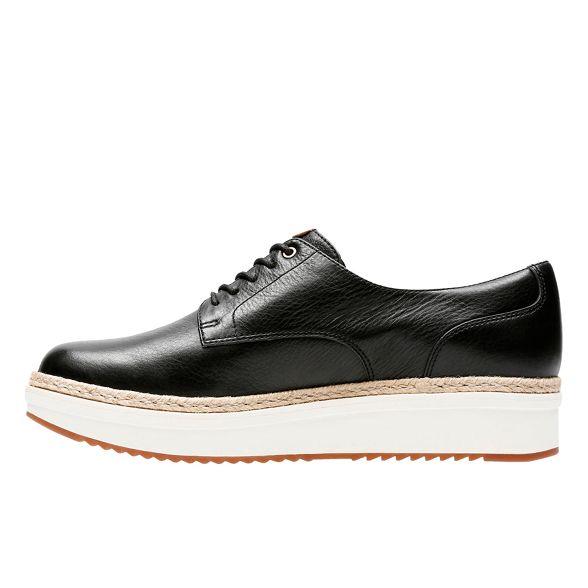 lace 'Teadale Clarks Rhea' up Black xCwgg1pYq