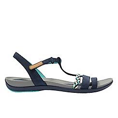Clarks - Navy 'Tealite Grace' women's sandals