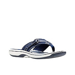 Clarks - Navy 'Brinkley Sea' sandals