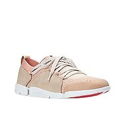Clarks - Light pink 'Tri Amelia' trainers