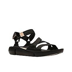 Clarks - Black 'Tri Sienna' sandals