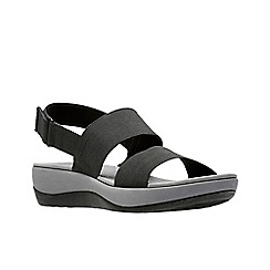 Clarks - Black 'Arla Jacory' sandals