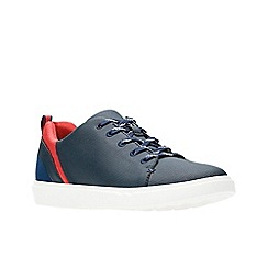 Clarks - Navy 'Step Verve Lo.' lace-up shoes