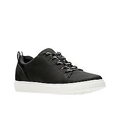 Clarks - Black 'Step Verve Lo.' lace-up shoes