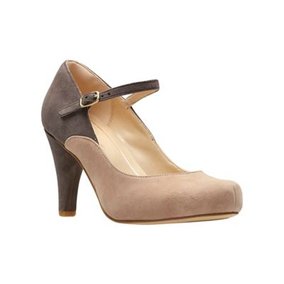 8b540b489bb Clarks Brown suede  Dalia Lily  high heel shoes