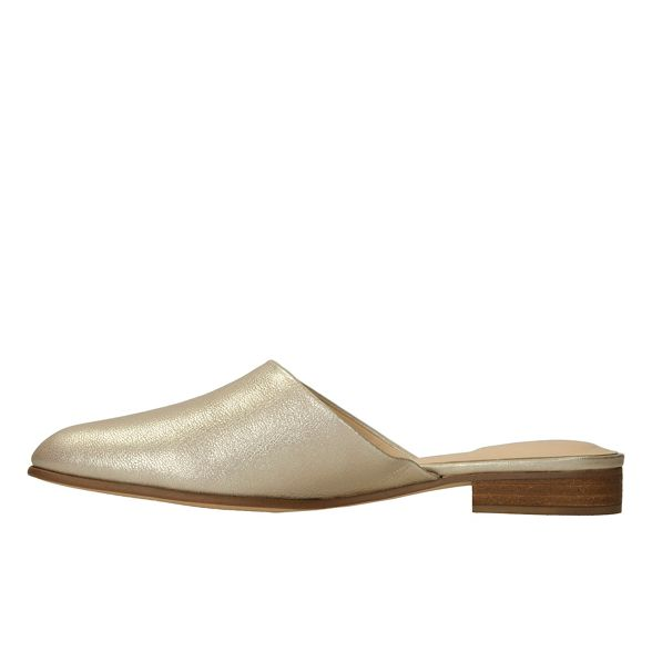 leather mules Gold Blush' Clarks 'Pure zqCwng