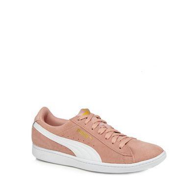 Puma - Light peach 'Vikky' trainers