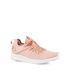 Puma - Pink 'Ignite' trainers