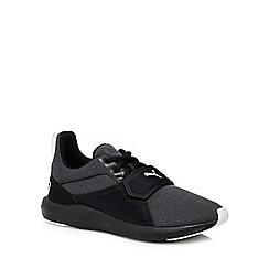 Puma - Black 'Prodigy' lace up trainers