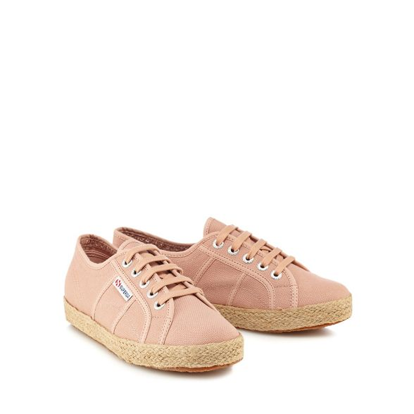 Pink 'Cotropew' Superga up trainers lace qPXxdwTdW6