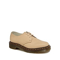 Dr Martens - Natural leather 'Nude' lace up shoes