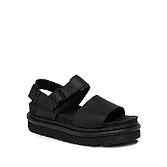 Dr Martens - Black leather 'Voss' sandals