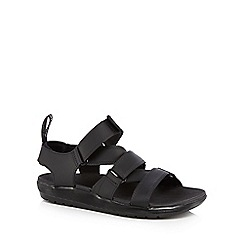 Dr Martens - Black leather 'Redfin' sandals