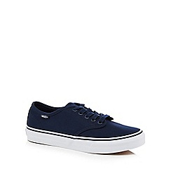 Vans - Navy 'Camden Stripe' lace up trainers