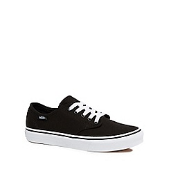 Vans - Black 'Camden Stripe' lace up trainers