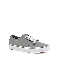 Vans - Grey 'Camden Stripe' lace up trainers