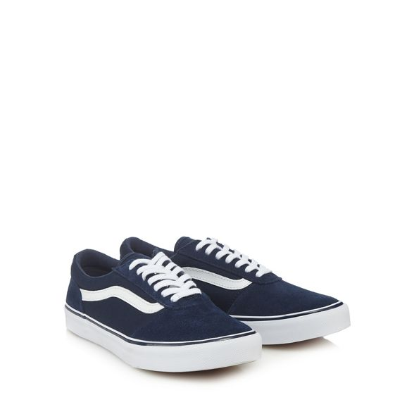 Navy trainers Vans lace 'Maddie' up qPgg6wa