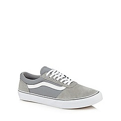 Vans - Grey 'Maddie' lace up trainers