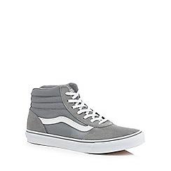Vans - Grey 'Maddie' high top trainers