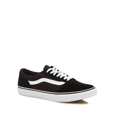 Vans - Black 'Maddie' lace-up trainers