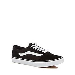 Vans - Black 'Maddie' lace-up trainers