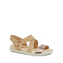 ECCO - Natural leather 'Damara' sandals