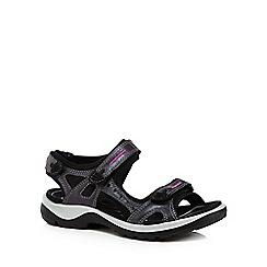 ECCO - Black 'Off Road' sandals
