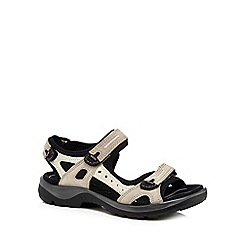ECCO - Taupe 'Off Road' sandals