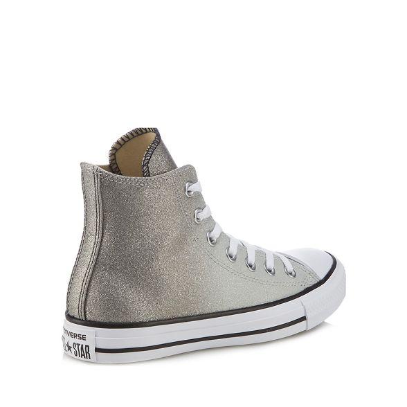 trainers 'All hi top Metallic Star' Converse glitter 8PqYgwEA