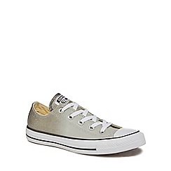 Converse - Grey ombre glitter 'All Star OX' trainers
