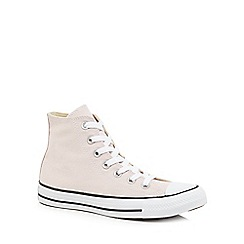 Converse - Light pink canvas 'All Star' hi-top trainers