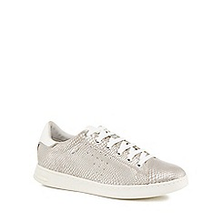 Geox - Silver 'Jaysen' trainers
