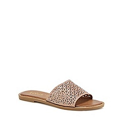 Lotus - Rose diamante 'Bolsena' sliders