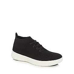FITFLOP - Uberknit slip on high top sneakers