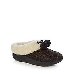 FitFlop - Loaf snug pom slippers