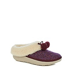 FitFlop - Purple 'Loaff' slippers