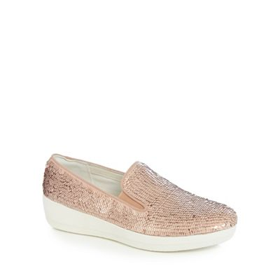 FitFlop - Superskate sequined trainers Fashionable and eye-catching shoes