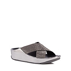 FitFlop - Metallic crystal embellished sandals