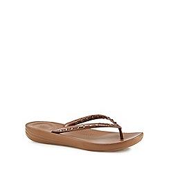 FitFlop - Bronze flip flops