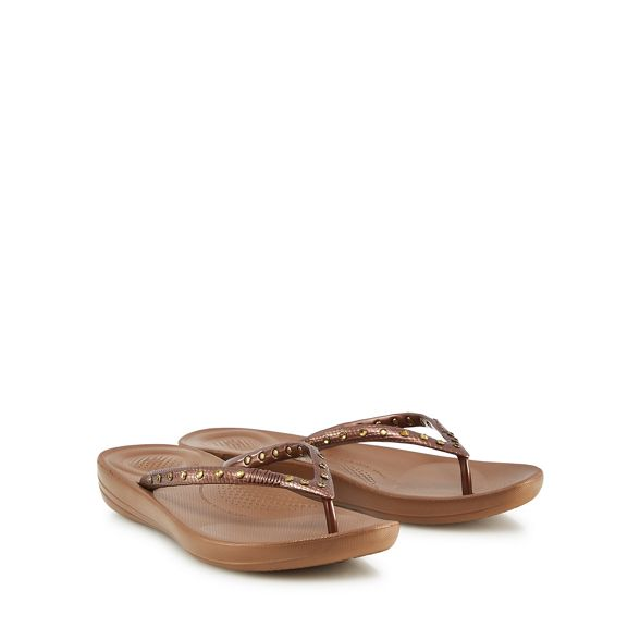 Bronze flip FitFlop Bronze FitFlop IQushion IQushion flip flops flops qPxScpwUHc