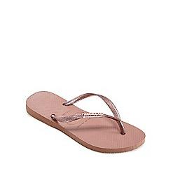 Havaianas - Pink Flip Flops